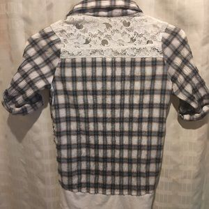 Knit works top
